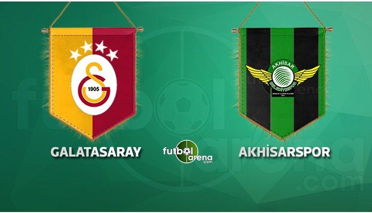 Galatasaray'ın ilk 11'i açıklandı! Akhisarspor rövanşı hangi kanalda?