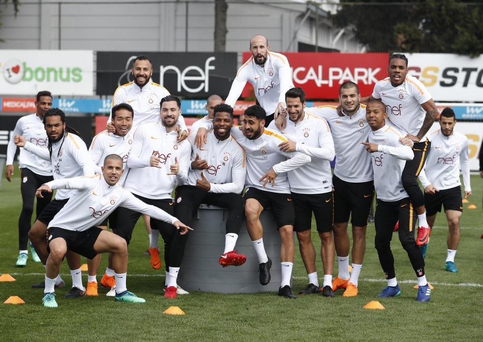 Galatasaraylı futbolculardan Gençlerbirliği maçı öncesi söz