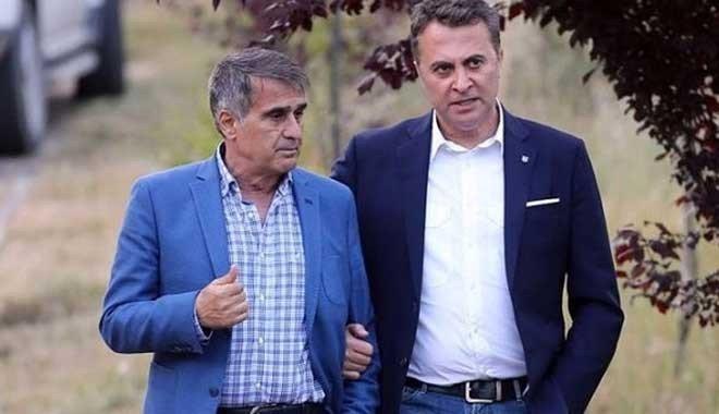Şenol Güneş Fikret Orman'a söz verdi: Fenerbahçe'yi yenip...