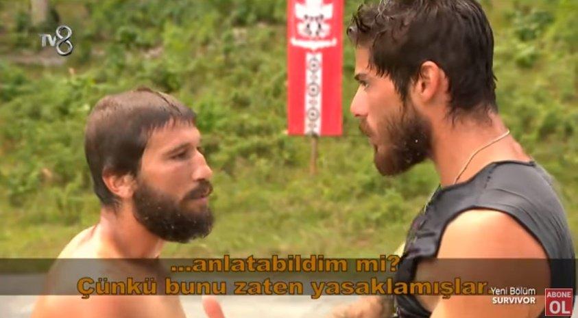 'Survivor'da şok kavga! Fenerbahçeli sporcu çıldırdı
