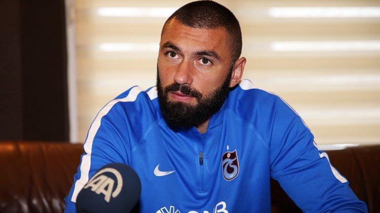 Burak Yılmaz'dan Trabzonspor'a şok!