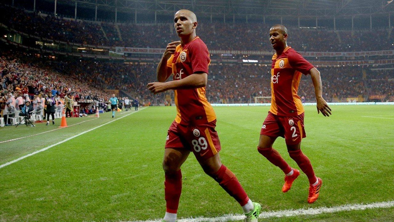 Galatasaray'da ilk transfer Sofiane Feghouli