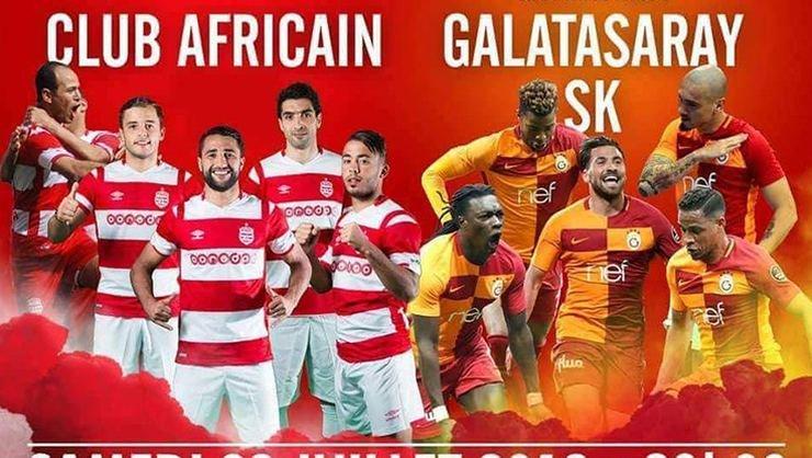 <h2> Tunus'ta Galatasaray bereketi</h2>