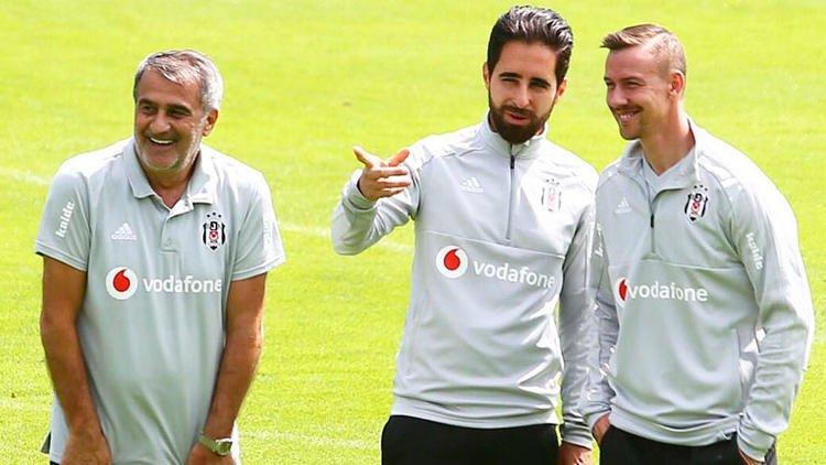 Beşiktaş antrenmanında herkesi şaşırtan futbolcu! Görenler inanamadı