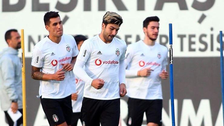 <h2>Beşiktaş'ta Pepe ve yeni transfler takımla katıldı</h2>
