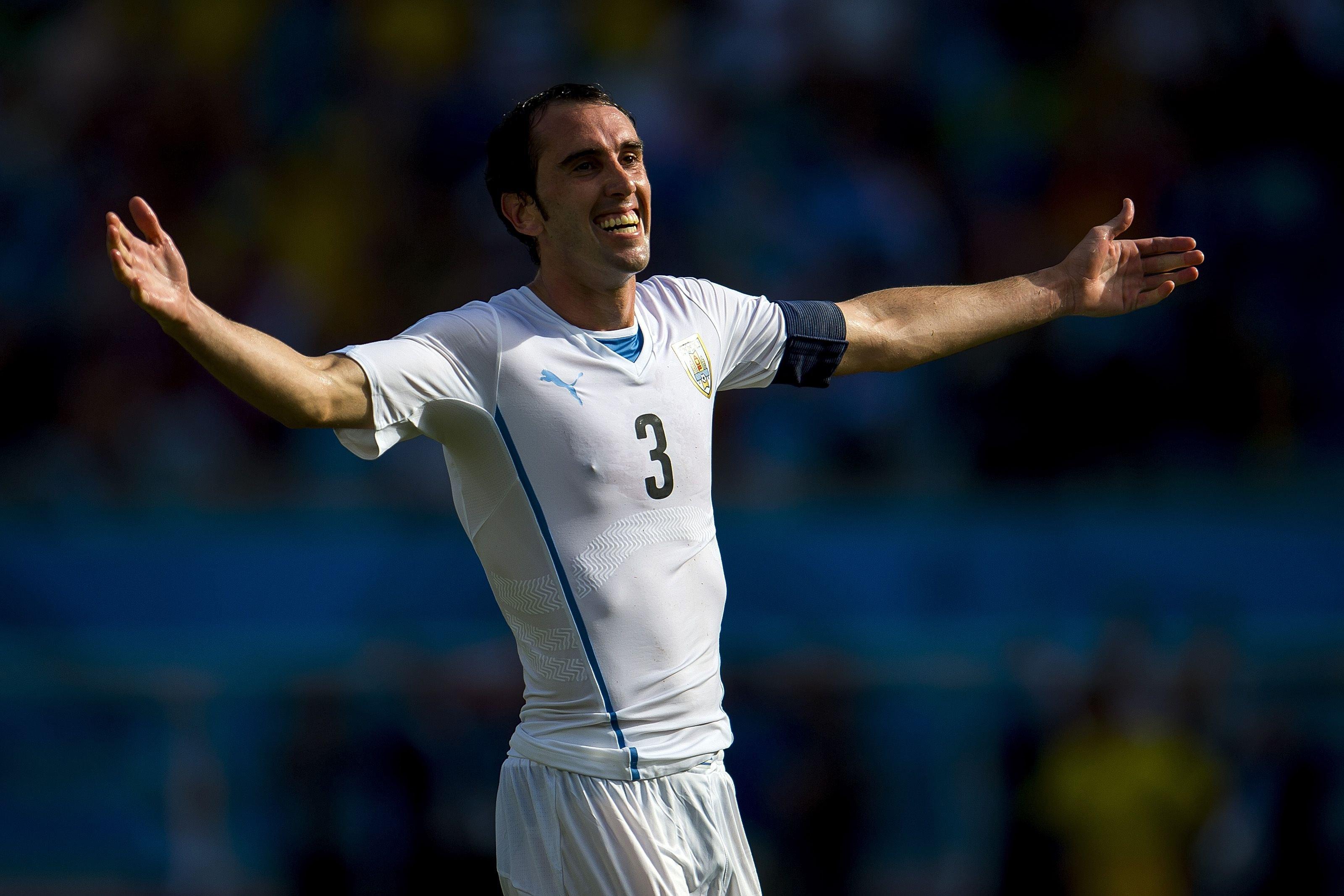 <h2>Diego Godin - Uruguay</h2>