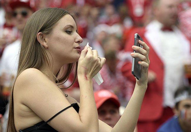 'Dünya Kupası'na damga vuran seksi güzeller