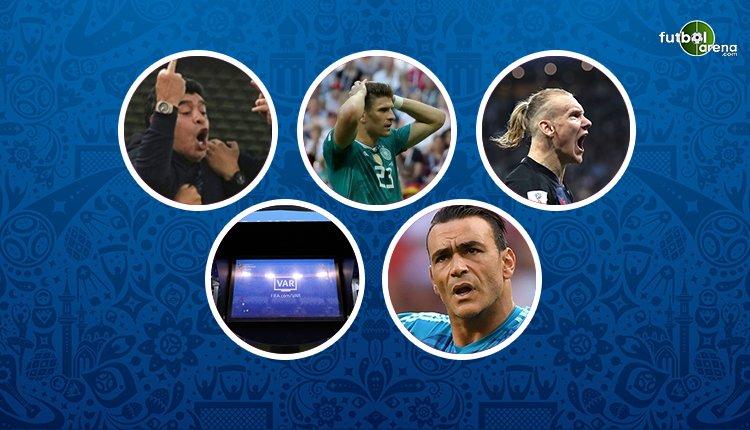 Dünya Kupası'nda hafızalara kazınan anlar