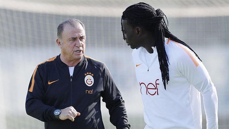 <h2>Galatasaray'da Fatih Terim'den Gomis'e uyarı</h2>