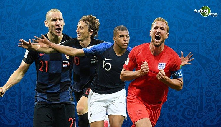 İşte Dünya Kupası'nın en iyi 11'i