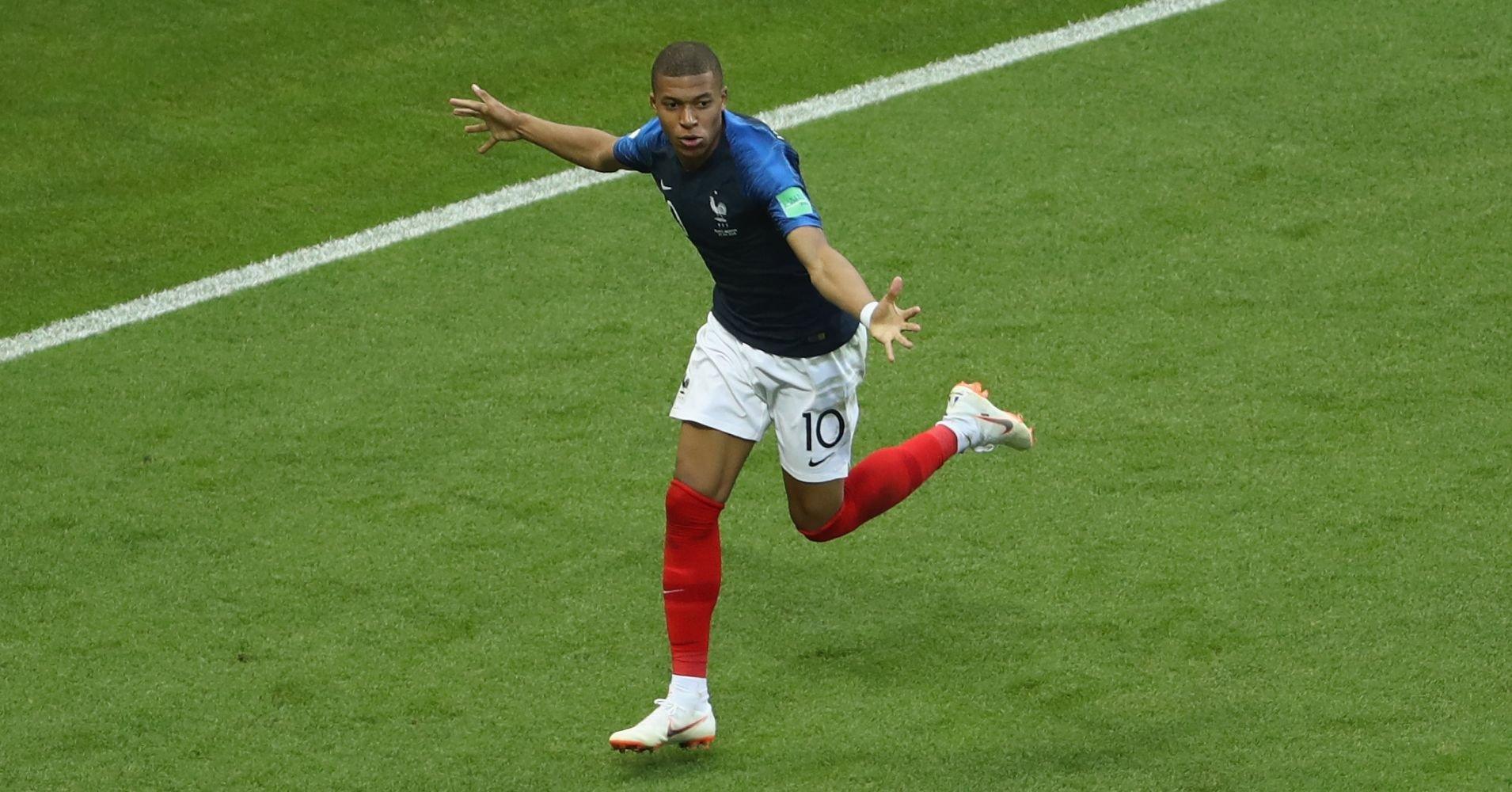 <h2>Kylian Mbappe - Fransa</h2>