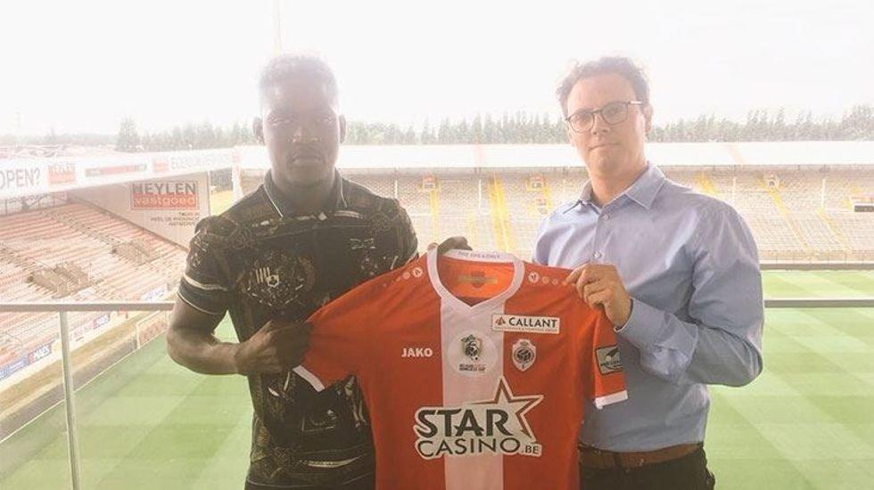 <h2>Opare, Antwerp ile sözleşme imzaladı</h2>