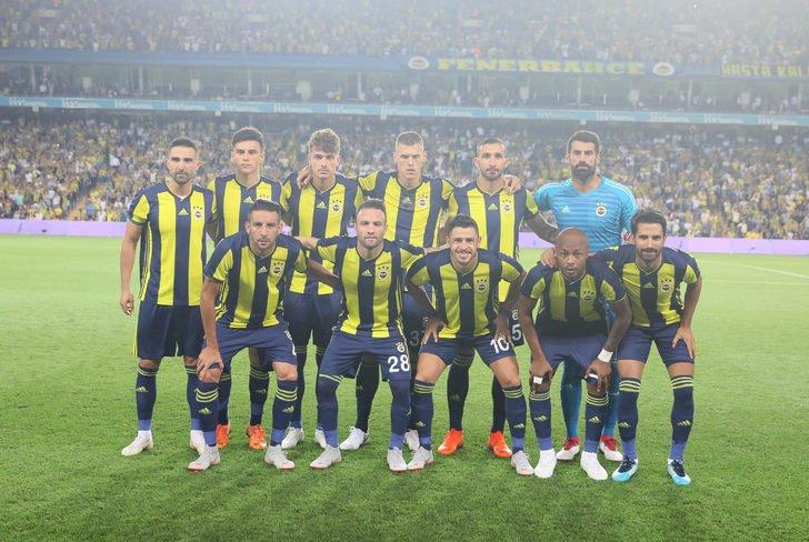 Fenerbahçe'nin muhtemel Yeni Malatyaspor 11'i