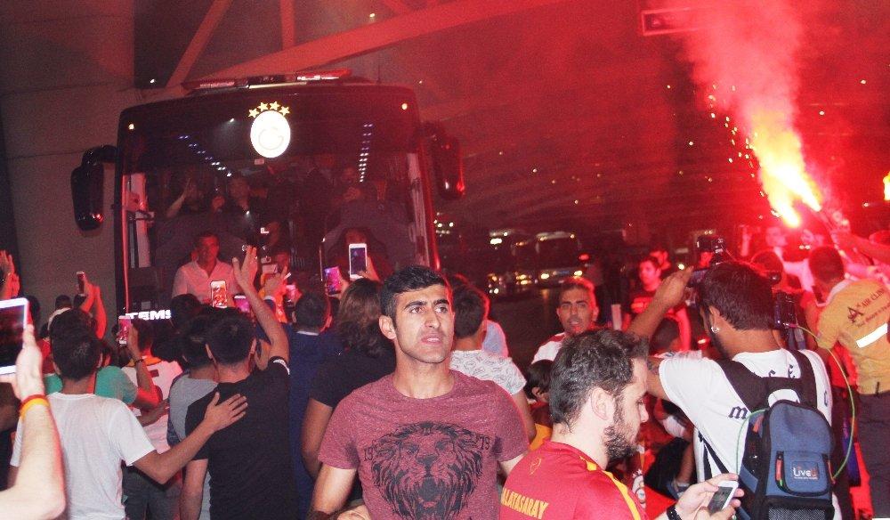 Galatasaray, Ankaragücü maçına bakın nasıl yetişti