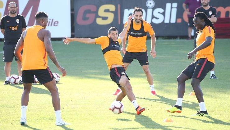 <h2>Galatasaray Göztepe'ye hazırlanıyor</h2>
