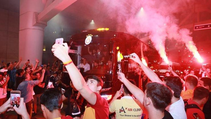 <h2>Galatasaray'a Ankara'da yoğun ilgi</h2>