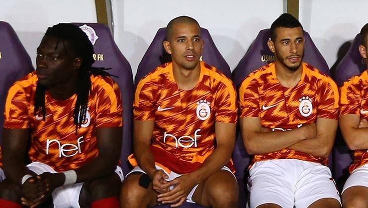 <h2>Galatasaray'dan Gomis, Feghouli ve Belhanda'ya: Kulüp bulun!</h2>