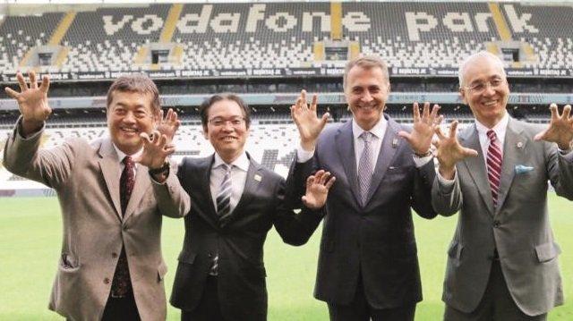 <h2>Beşiktaş Japon deviyle 10 milyon euroluk anlaşma imzaladı</h2>