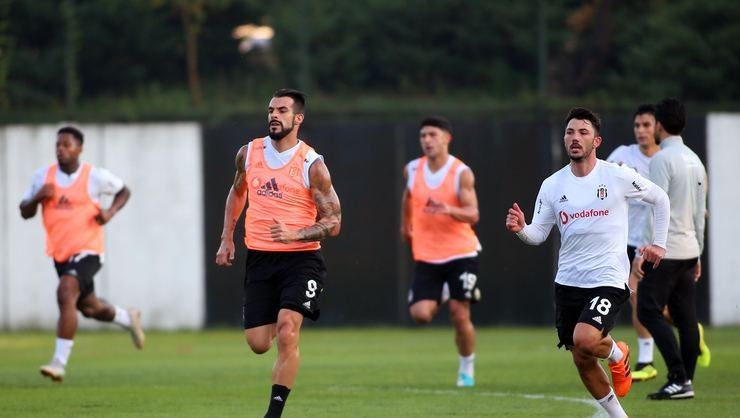 <h2>Beşiktaş, Yeni Malatyaspor maçının hazırlıklarını sürdürdü</h2>