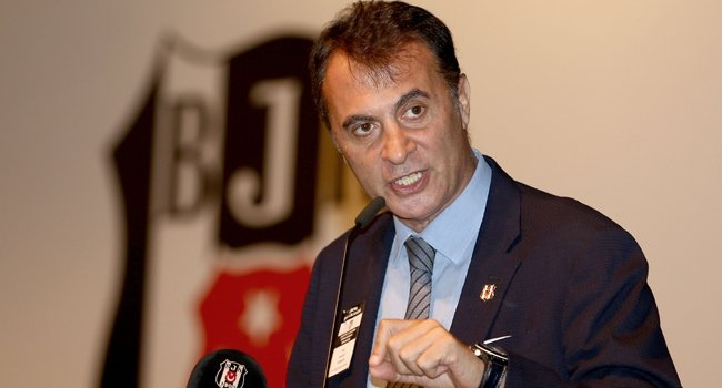 Beşiktaş'ta Fikret Orman; \