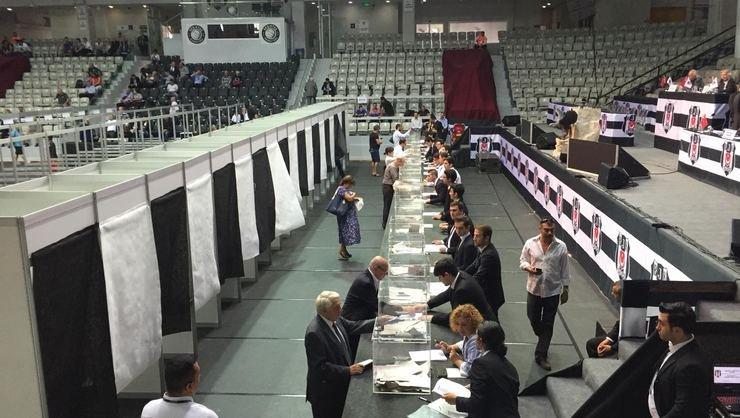 <h2>Beşiktaş'ta oy verme işlemi başladı</h2>
