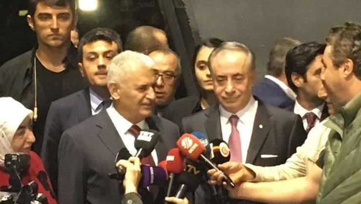 <h2>Binali Yıldırım: Kasımpaşalı birisiyim, Galatasaray taraftarıyım</h2>