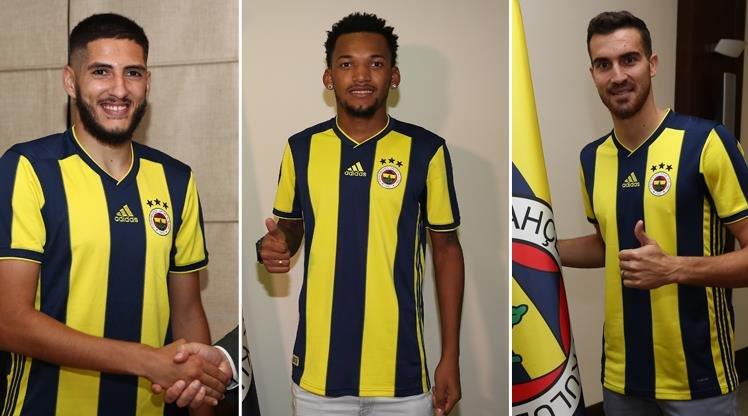 <h2>Fenerbahçe'de 3 yeni transfer imzayı attı</h2>