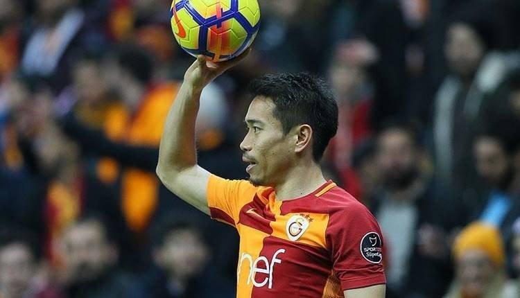 Galatasaray'a Nagatomo'dan sonra sürpriz bir Japon daha