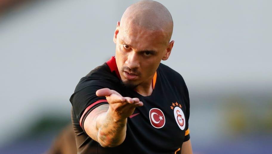 <h2>Galatasaray'da Maicon'a yoğun tedavi</h2>