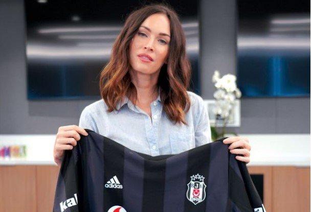'Megan Fox'tan Beşiktaş itirafı! Formayı aldı ve açıkladı