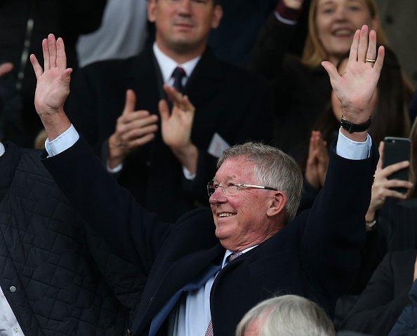Sir Alex Ferguson yeniden Old Trafford'da!