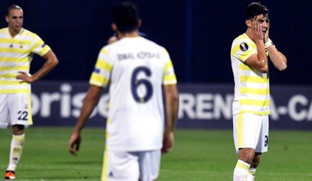 UEFA'dan Fenerbahçe için büyük hata! Takım listesinde şok