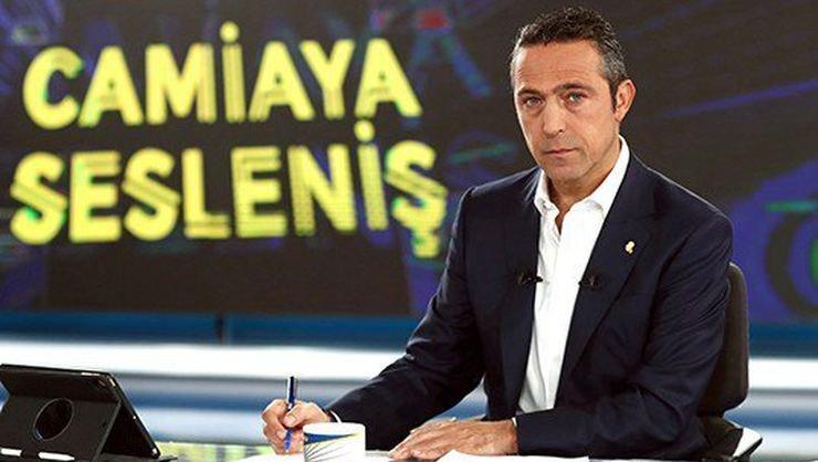 <h2>Ve söz yine başkan Ali Koç'ta</h2>