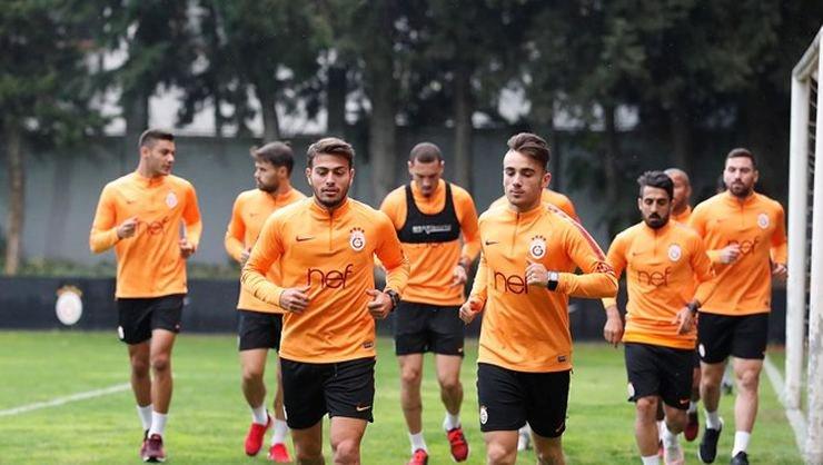 <h2> Galatasaray'da Bursaspor maçı hazırlıkları başladı</h2>