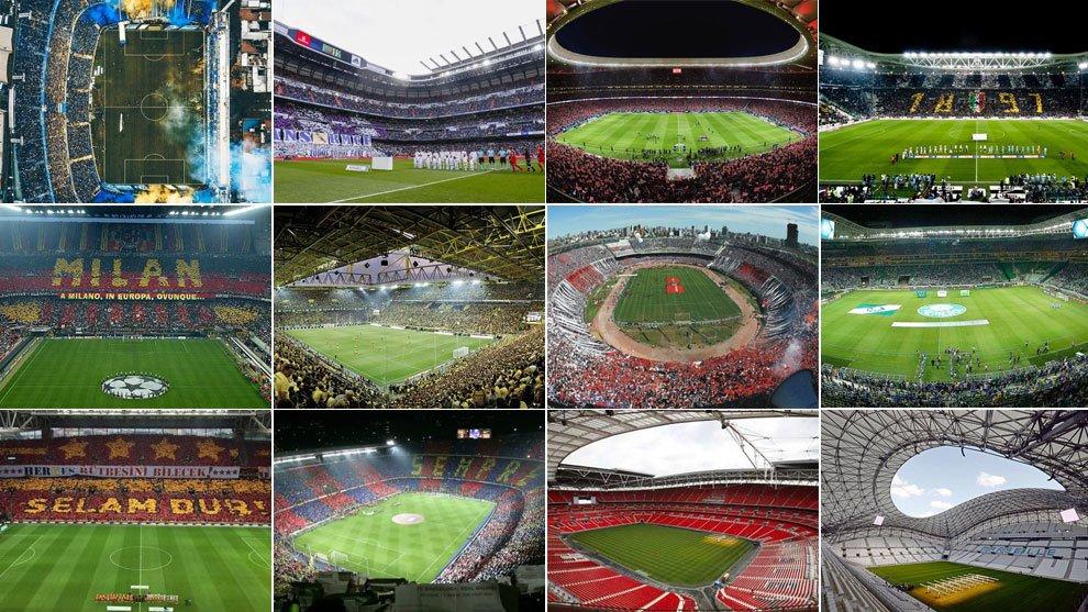 Dünyanın en iyi 40 stadı açıklandı! Listede Türkiye'den 1 stat yer aldı