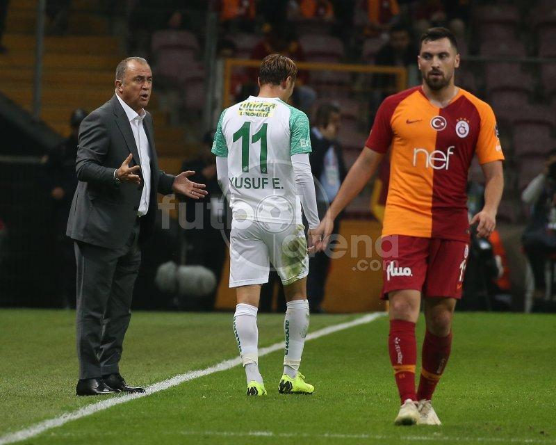 Fatih Terim'den maç sonunda isyan! \