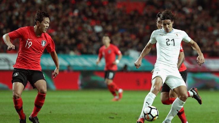 <h2>Fernando Musleralı Uruguay, Güney Kore'ye mağlup oldu</h2>