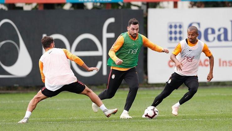 <h2>Galatasaray, Bursaspor maçı hazırlıklarına devam etti</h2>