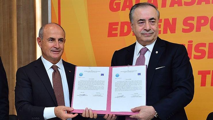 <h2>Galatasaray'a yaklaşık 130 dönümlük arazi tahsisi</h2>