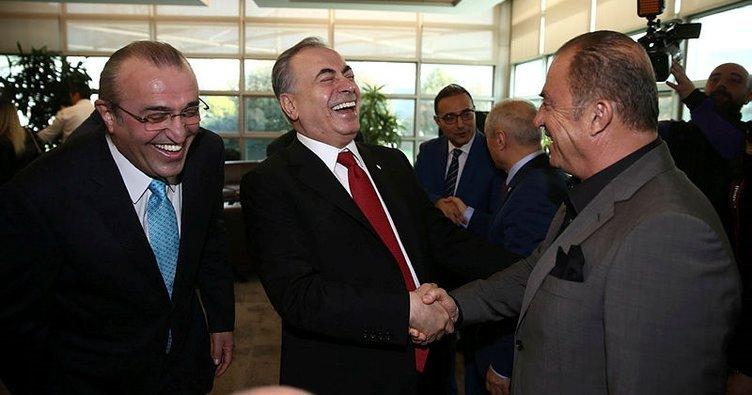 <h2>Galatasaray'da Fatih Terim ile Mustafa Cengiz arasında dev zirve</h2>