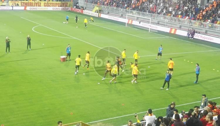Göztepe - Beşiktaş maçı öncesi futbolcular tartıştı!