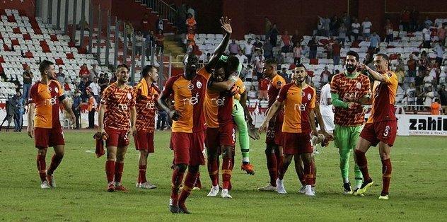 <h2>Süper Lig'in ilk 8 haftasında 4 kategoride zirve G.Saray'ın...</h2>