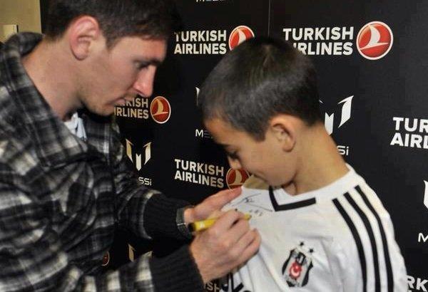 2. Messi vakası! Beşiktaşlı futbolcu