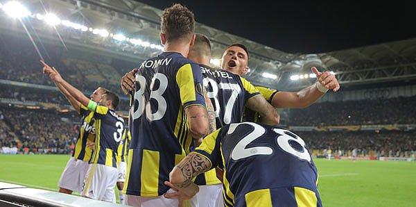 <h2> Fenerbahçe, UEFA Avrupa Ligi D Grubu'nda haftayı ikinci tamamladı</h2>
