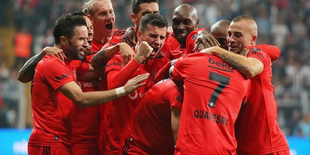 <h2>Beşiktaş- 14 puan</h2>