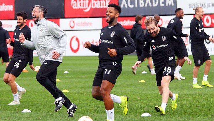<h2>Beşiktaş, Genk maçı hazırlıklarına devam etti</h2>