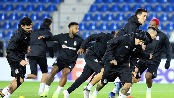 <h2>Beşiktaş, Genk maçı hazırlıklarını tamamladı</h2>