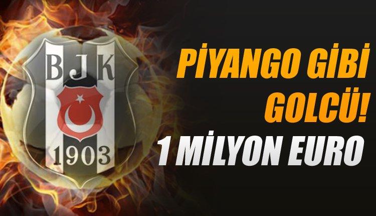 Beşiktaş'a piyango transfer! 1 milyon euroya imzalıyor