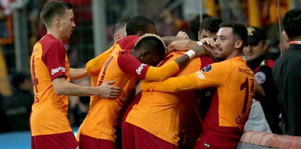 <h2>Galatasaray- 14 puan</h2>