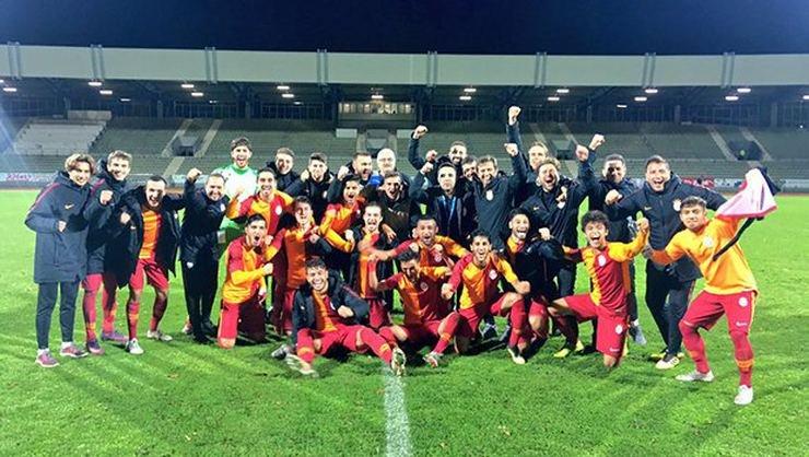 <h2>Galatasaray UEFA Gençlik Ligi'nde Schalke'yi devirdi</h2>